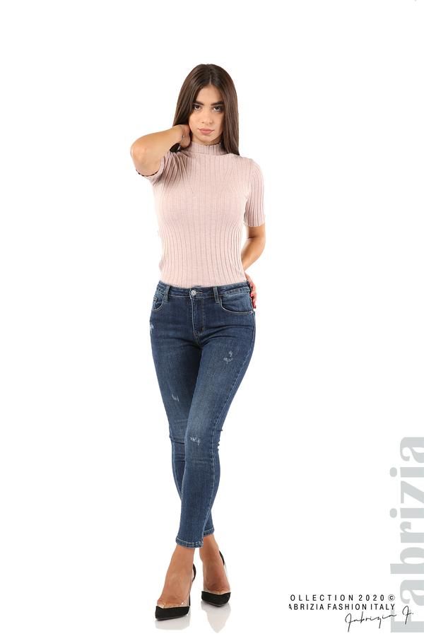 Еластични дамски дънки-1