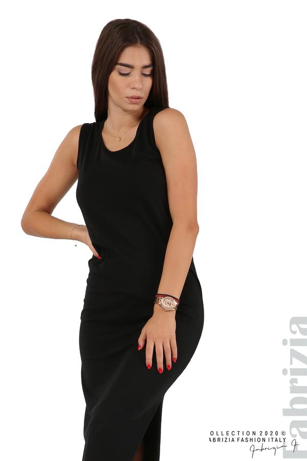 Комплект рокля и блуза с качулка черен 6 fabrizia