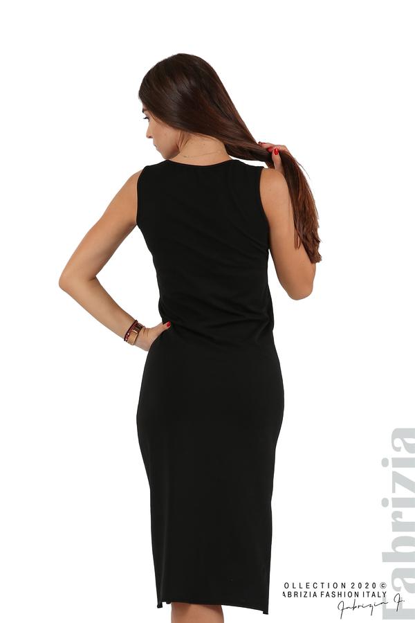 Комплект рокля и блуза с качулка черен 9 fabrizia