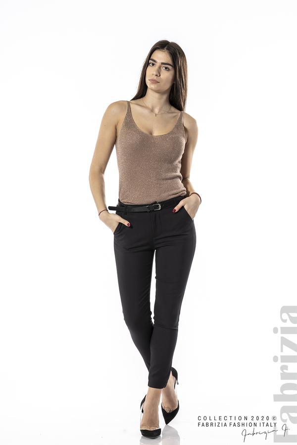 Елегантен панталон с италиански джоб черен 1 fabrizia