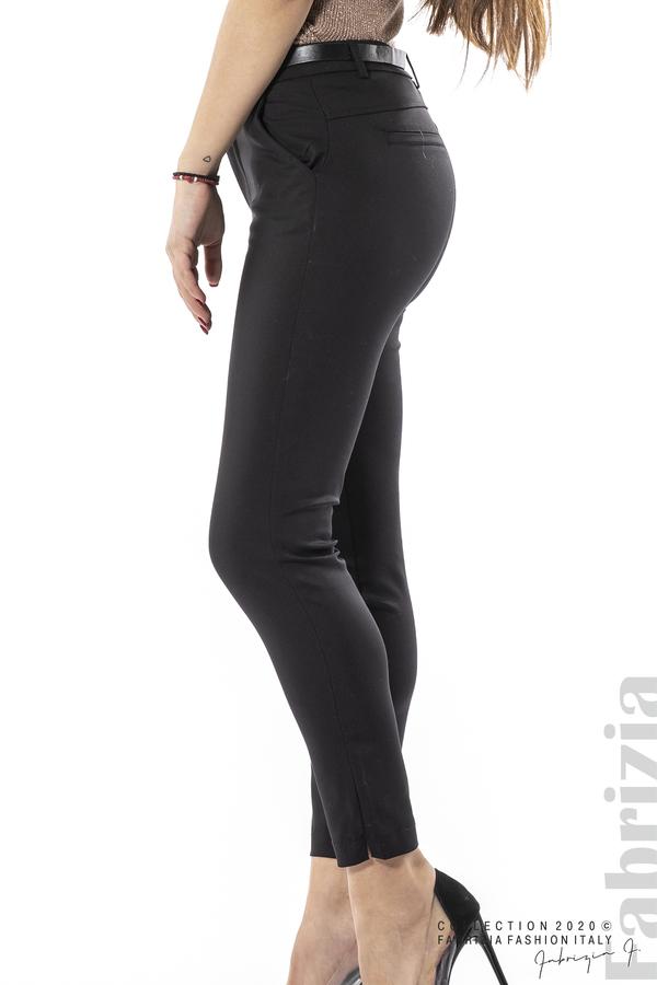 Елегантен панталон с италиански джоб черен 5 fabrizia