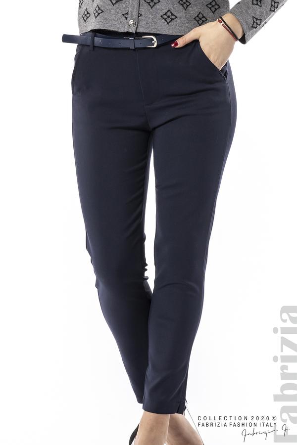 Елегантен панталон с италиански джоб т.син 2 fabrizia