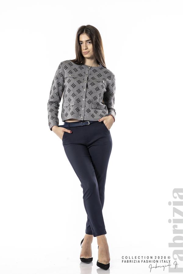 Елегантен панталон с италиански джоб т.син 1 fabrizia