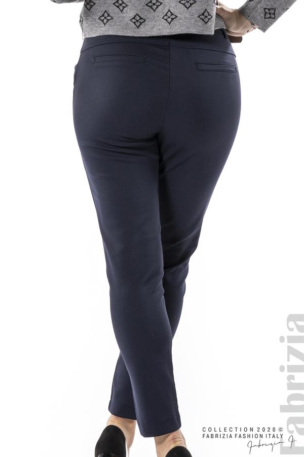 Елегантен панталон с италиански джоб т.син 7 fabrizia