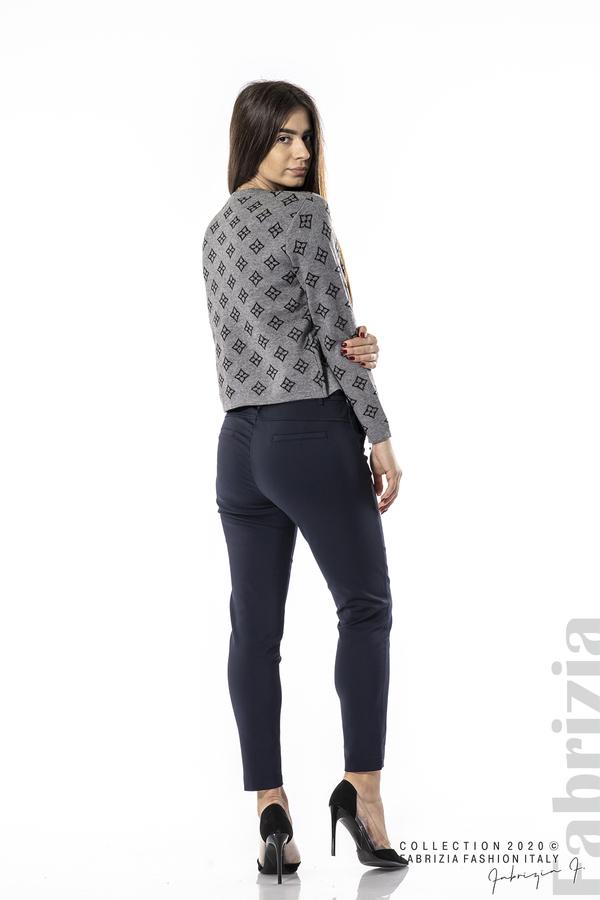 Елегантен панталон с италиански джоб т.син 6 fabrizia