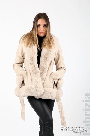 Късо кожено палто