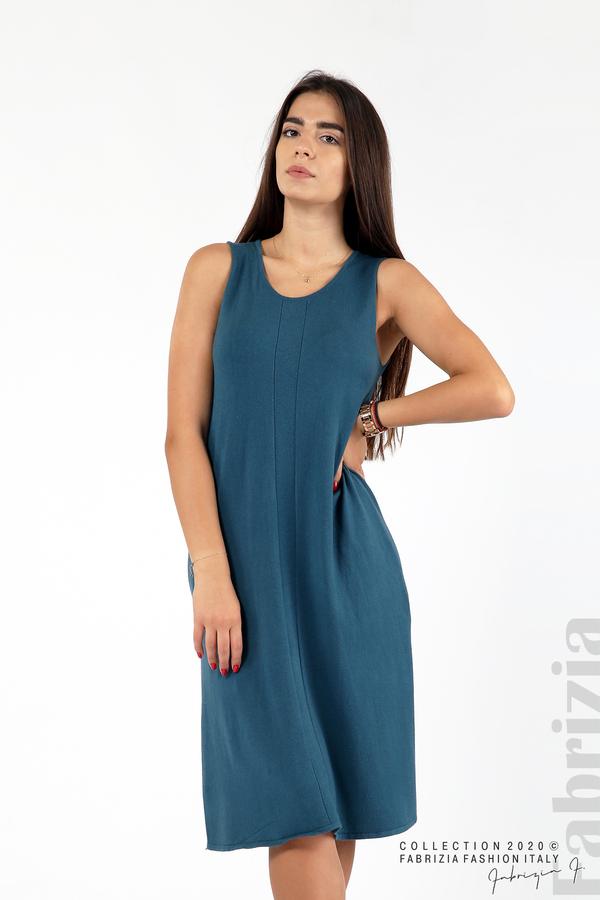Комплект рокля без ръкав и широка блуза отанио 3 fabrizia