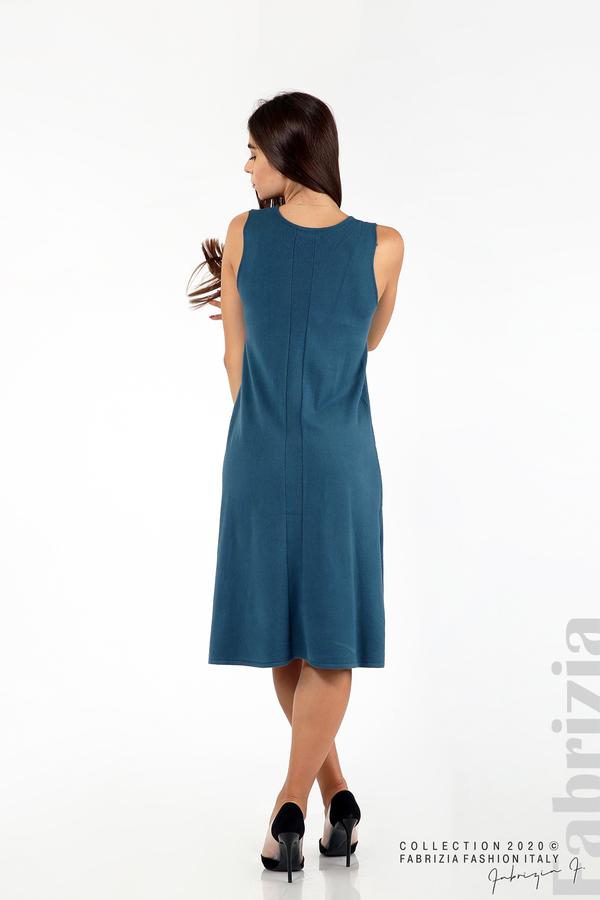 Комплект рокля без ръкав и широка блуза отанио 4 fabrizia