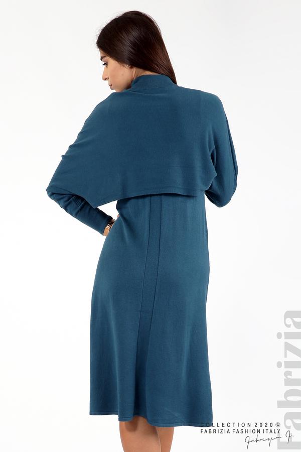 Комплект рокля без ръкав и широка блуза отанио 6 fabrizia