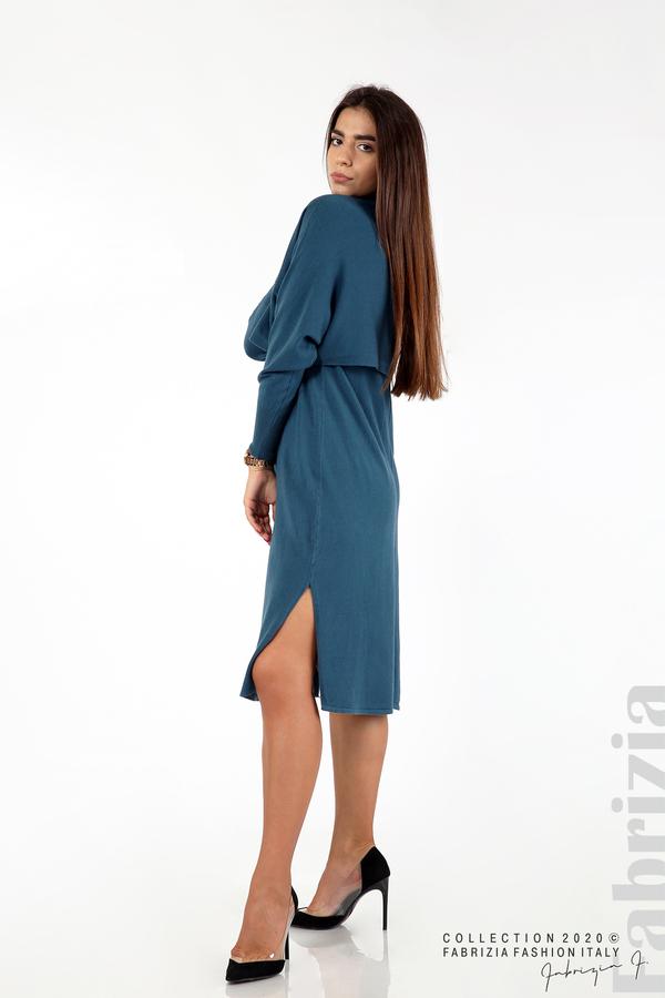 Комплект рокля без ръкав и широка блуза отанио 5 fabrizia