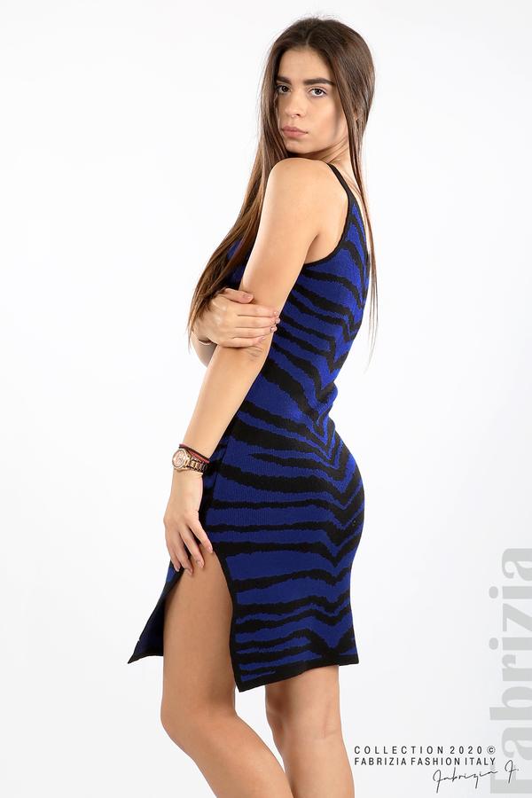 Къса плетена рокля кр.син 5 fabrizia
