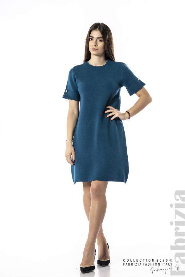 Къса едноцветна рокля отанио 3 fabrizia