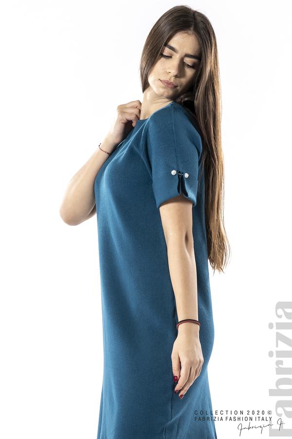 Къса едноцветна рокля отанио 2 fabrizia