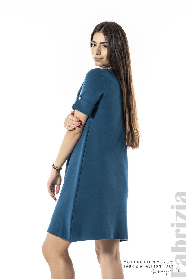 Къса едноцветна рокля отанио 5 fabrizia