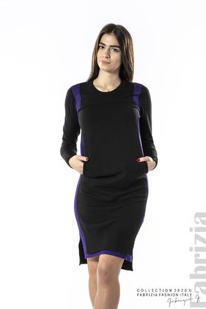 Къса рокля с двойна предна част