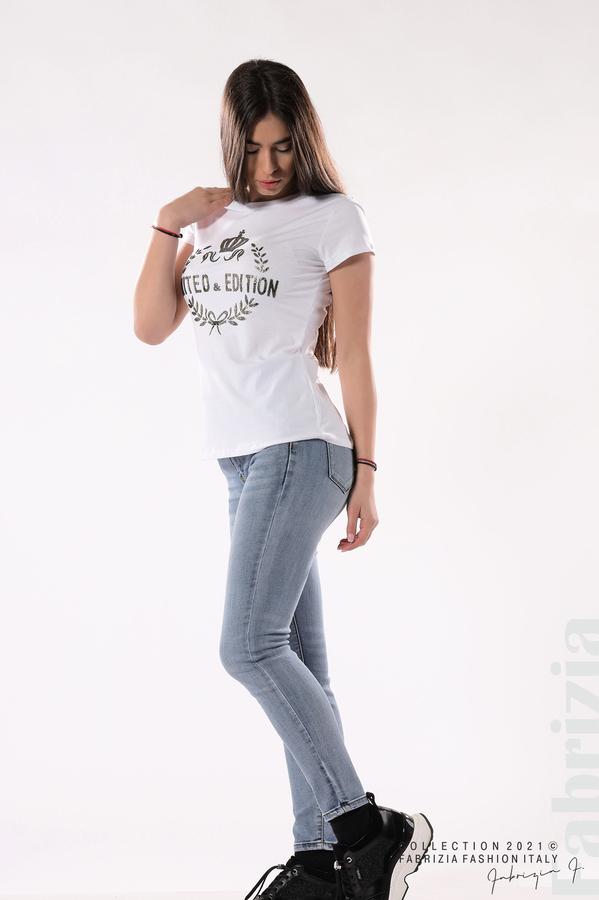Блуза Limited Edition бял/златист 3 fabrizia