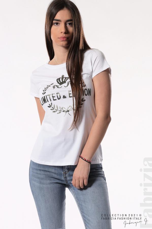 Блуза Limited Edition бял/златист 2 fabrizia
