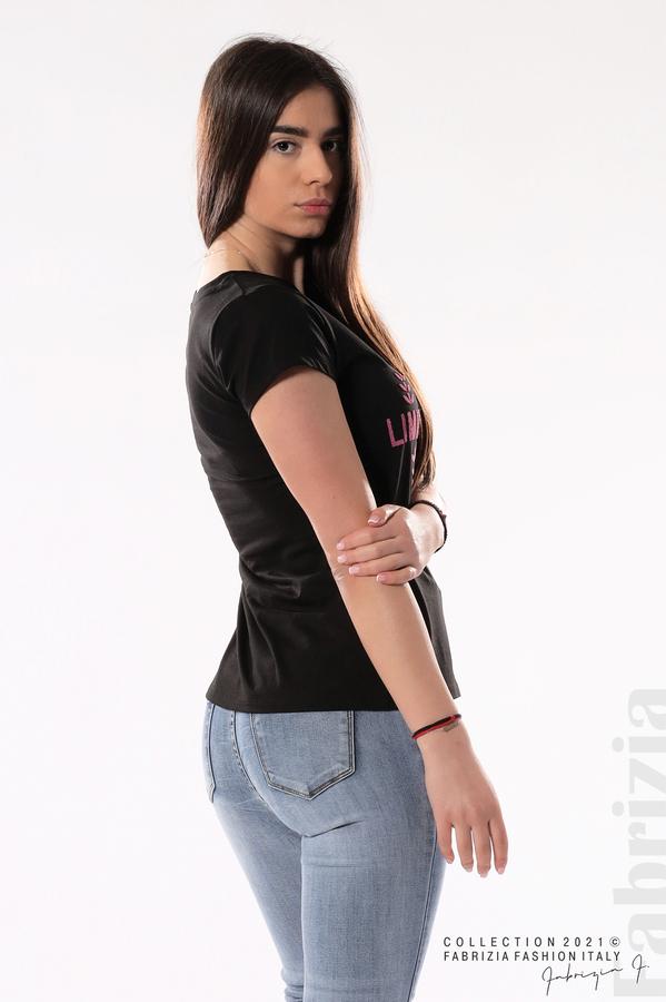 Блуза Limited Edition черен/розов 4 fabrizia