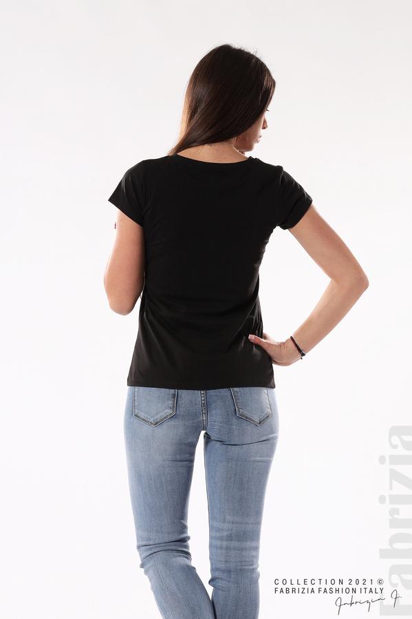Блуза Limited Edition черен/розов 6 fabrizia