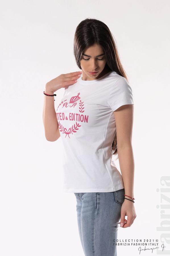 Блуза Limited Edition бял/розов 3 fabrizia