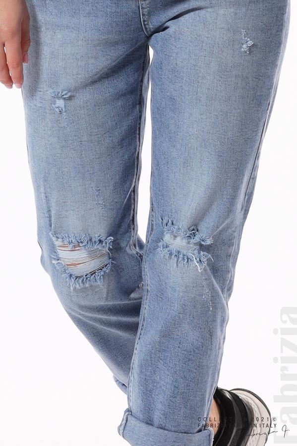 Широки дънки с акцент на коленете 5 fabrizia