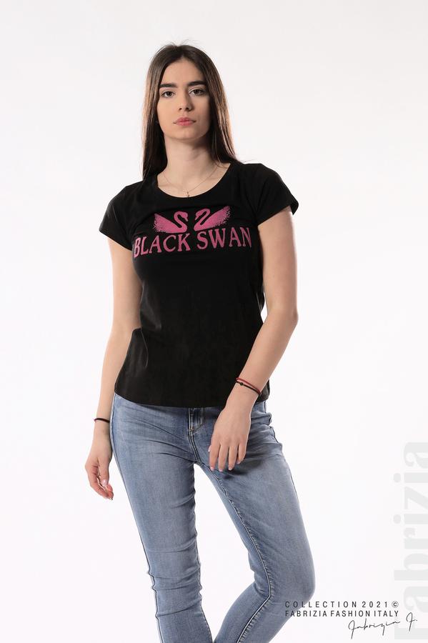Блуза Black Swan черен 1 fabrizia