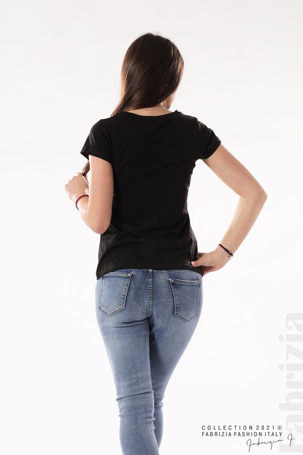 Блуза Black Swan черен 5 fabrizia