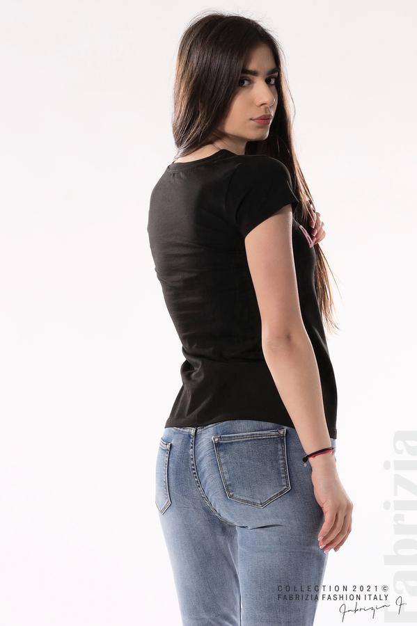Блуза Black Swan черен 3 fabrizia