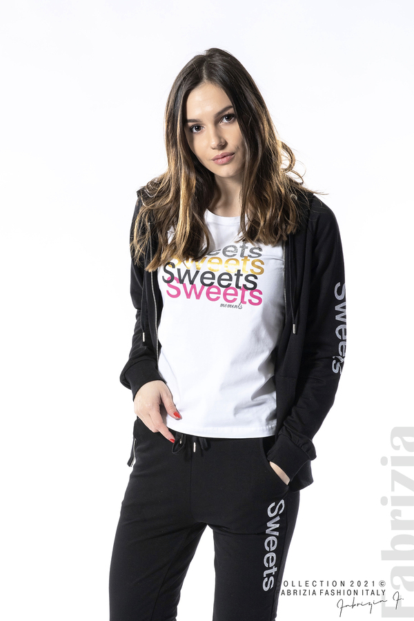 Спортен комплект Sweets черен 4 fabrizia