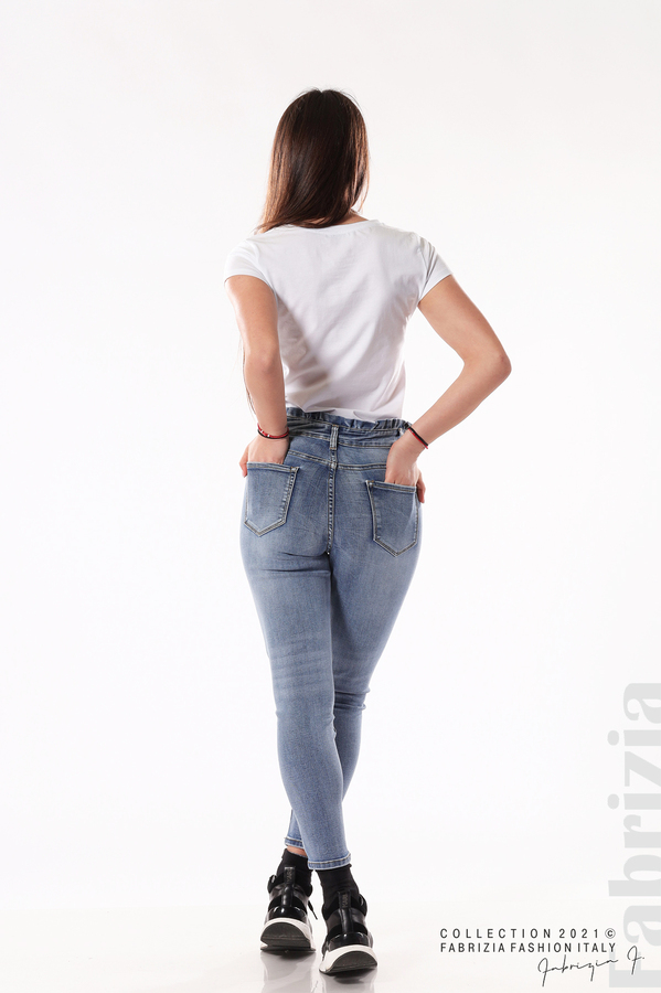 Сини дънки Plus-size 6 fabrizia