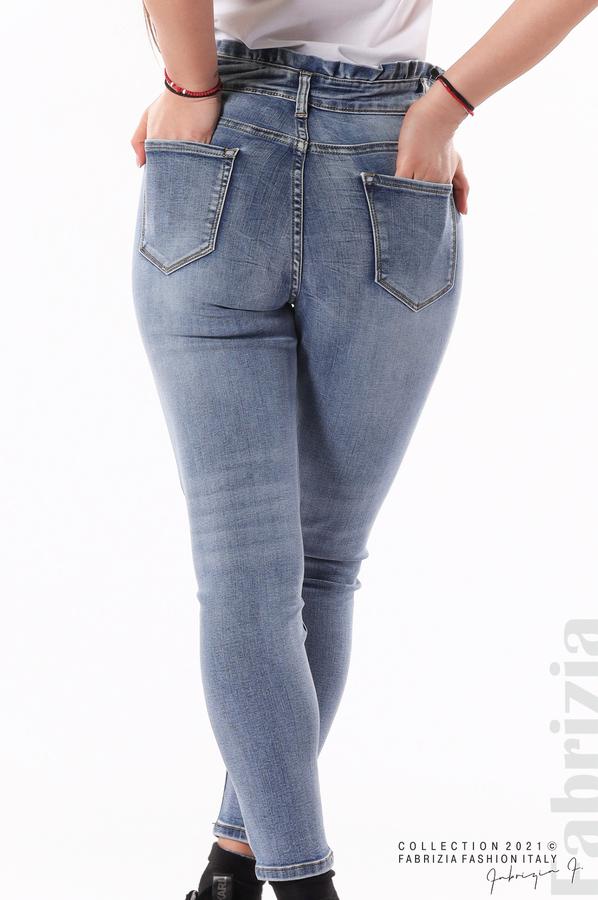 Сини дънки Plus-size 7 fabrizia