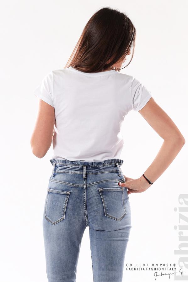 Сини дънки Plus-size 4 fabrizia