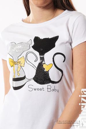 Блуза с котки Sweet Baby