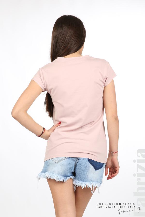 Блуза Women с въпросителен знак розов 5 fabrizia
