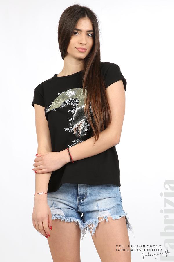 Блуза Women с въпросителен знак черен 5 fabrizia