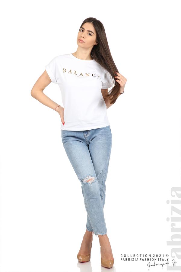 Блуза Balance бял 3 fabrizia