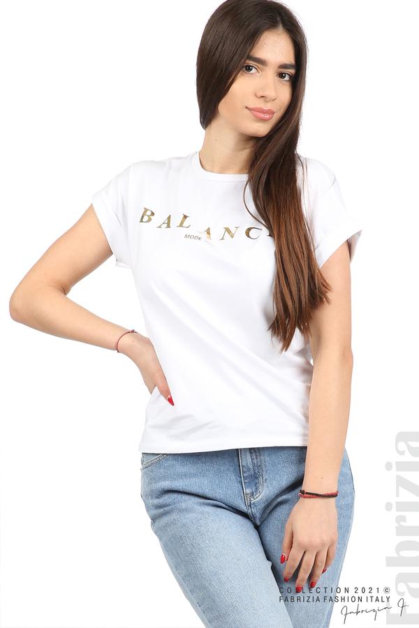 Блуза Balance бял 2 fabrizia