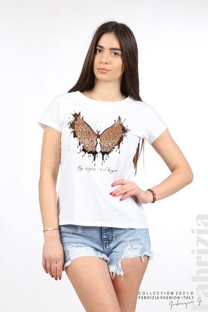 Блуза крила на пеперуда