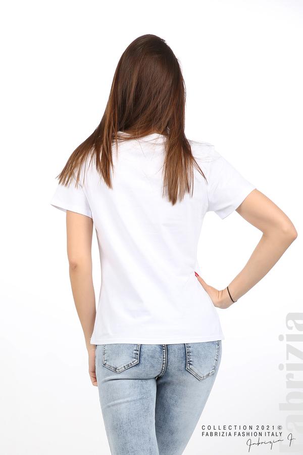 Блуза с панделка Best Interest бял 6 fabrizia