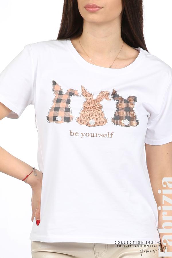 Блуза Be yourself бял 2 fabrizia