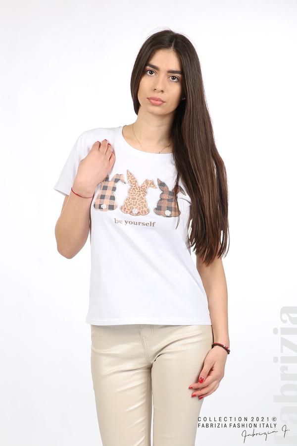 Блуза Be yourself бял 5 fabrizia