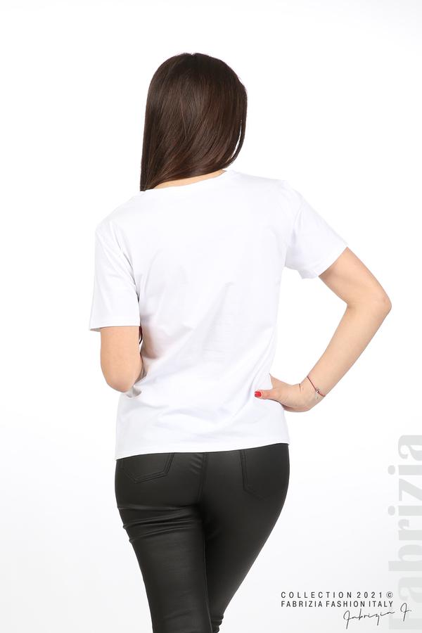 Блуза Creativ зебра бял 6 fabrizia