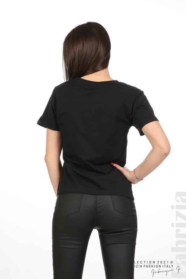 Блуза Creativ зебра черен 6 fabrizia