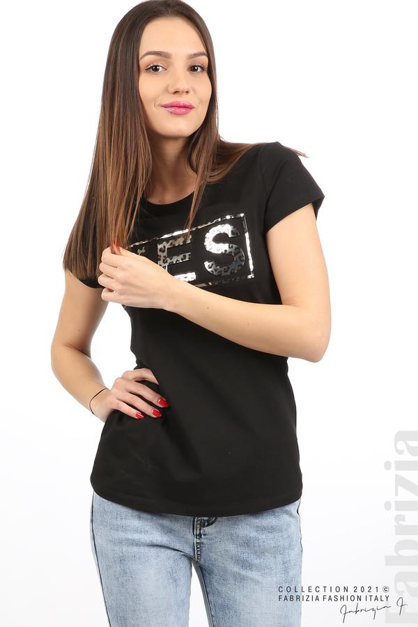 Блуза YES черен 2 fabrizia