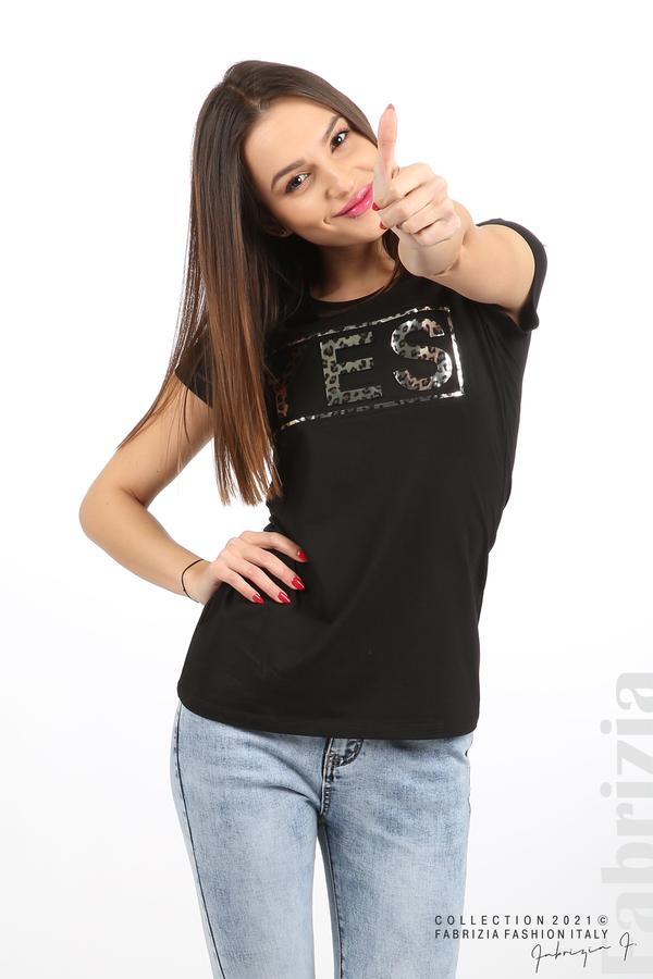 Блуза YES черен 4 fabrizia