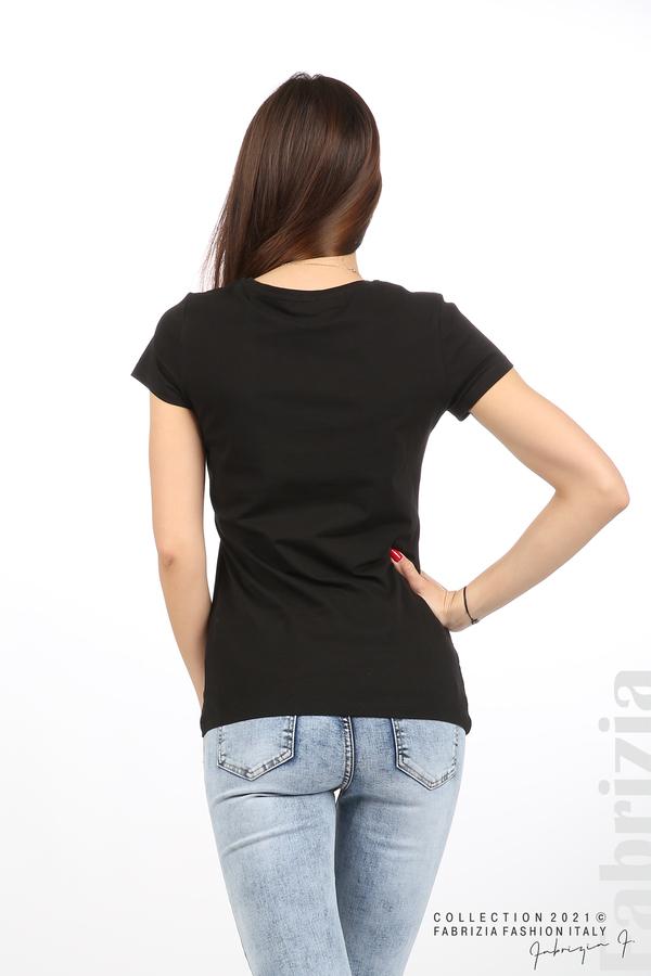 Блуза YES черен 5 fabrizia