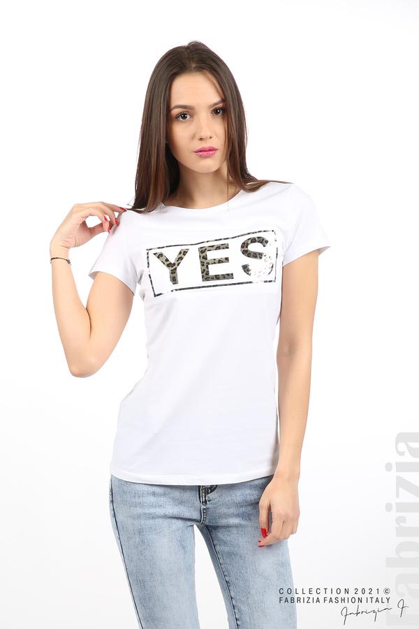 Блуза YES бял 2 fabrizia