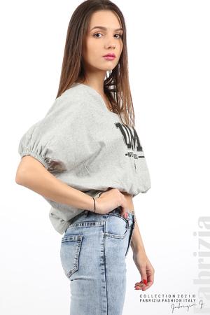 Блуза ластик предна част