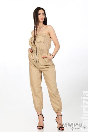 Дамски гащеризон с джобчета