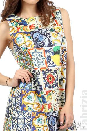 Къса рокля лимони